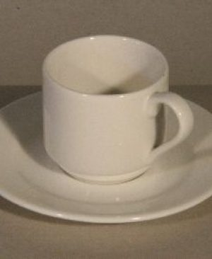 trendy espresso kop en schotel huren