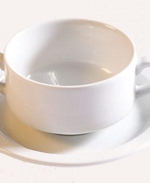 mosa soepkom en schotel