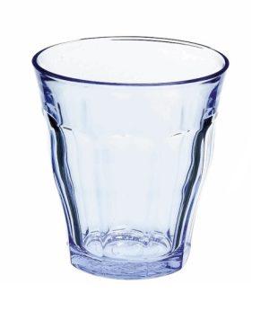 waterglas picardie blauw