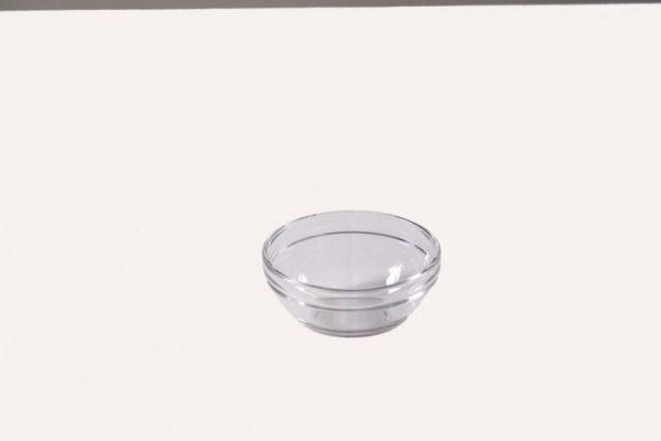 grote glazen schaal huren