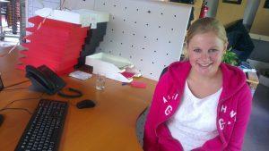 Carlijntje - Carlijn Huijbregts - stagiaire - marketing & communicatie stagiaire