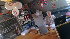 Ad Vermeulen - 65 jaar - jubileum - Triade Party Rent - ballonnen