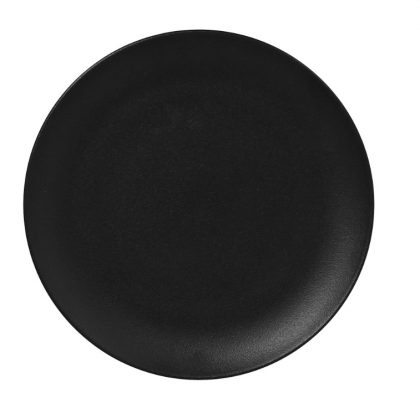 zwart dessertbord