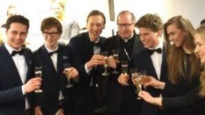 kardinaal Eijk, Happietaria Utrecht, toost, Triade Party Rent, studenten, sponsoring