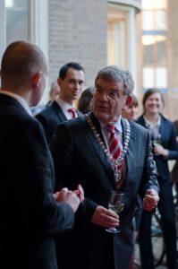 happietaria Utrecht, Jan van Zanen, burgemeester van Utrecht, toost